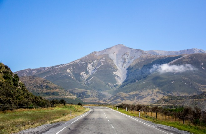 Arthurs Pass approach