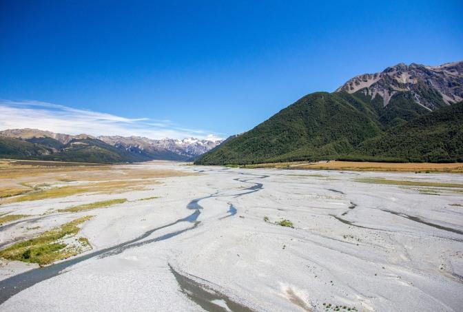 Waimakariri River Arthurs Pass