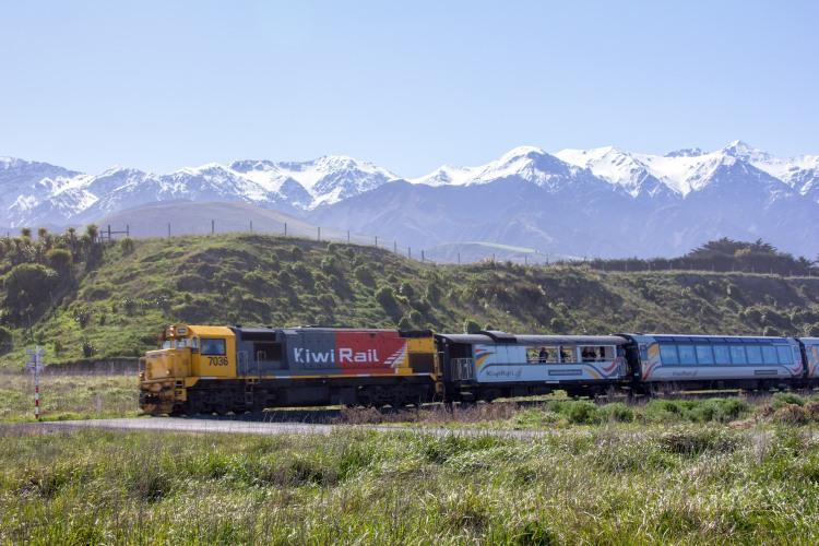 Kiwi Rail Kaikoura